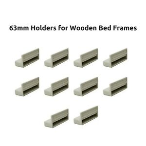 63mm-Single-Bed-Slat-Holders-Caps-for-Wooden-Bed-Frames-Grey-Free-Delivery