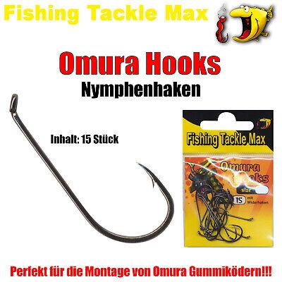 FTM Omura Baits Haken Hooks Nymphenhaken für Omura Pongo Kong Snake