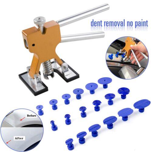 Car Body Paintless Dent Repair Tools Automotive T Bar Puller Tabs DIY Removal