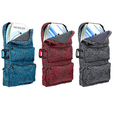 //Tripla //Quad per 2 tavole per 3 tavole Two Bare Feet Classic Pattern 111,8 cm Bodyboard Carry Bag per 4 tavole Doppia