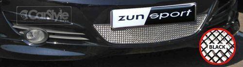ZunSport Vauxhall Opel Corsa D 2005 Black Steel Mesh Lower Grille