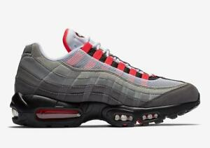 25465b31 Nike Air Max 95 OG NEW AUTHENTIC White/Solar Red-Granite-Dust AT2865 ...