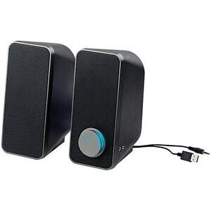 pc boxen stereo lautsprecher mit usb stromversorgung 24. Black Bedroom Furniture Sets. Home Design Ideas