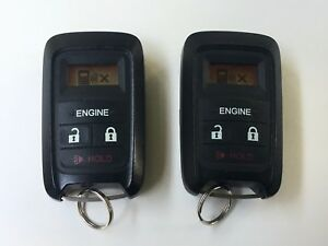PAIR OF 2 HONDA  OEM   08E91-E54-1M0-<wbr/>01 Factory OEM KEY FOB Keyless Entry Remote