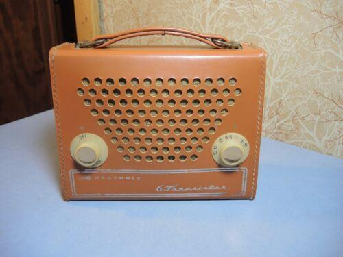 Vintage Heathkit 6 Transistor Portable Radio Model No. GR-151A Works