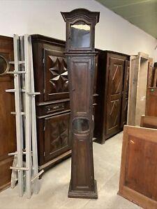 Caisse de Pendule Comtoise Horloge Régulateur XVIIIeme Mouvement Ancienne