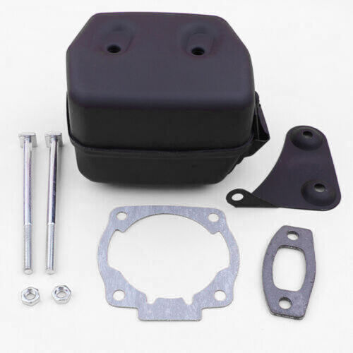 Exhaust Muffler Kit For Husqvarna 55 Rancher 51 50 Chainsaw Spare Tools Parts