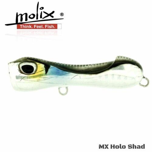 Molix Topwater Popper Lure S-Popper 65