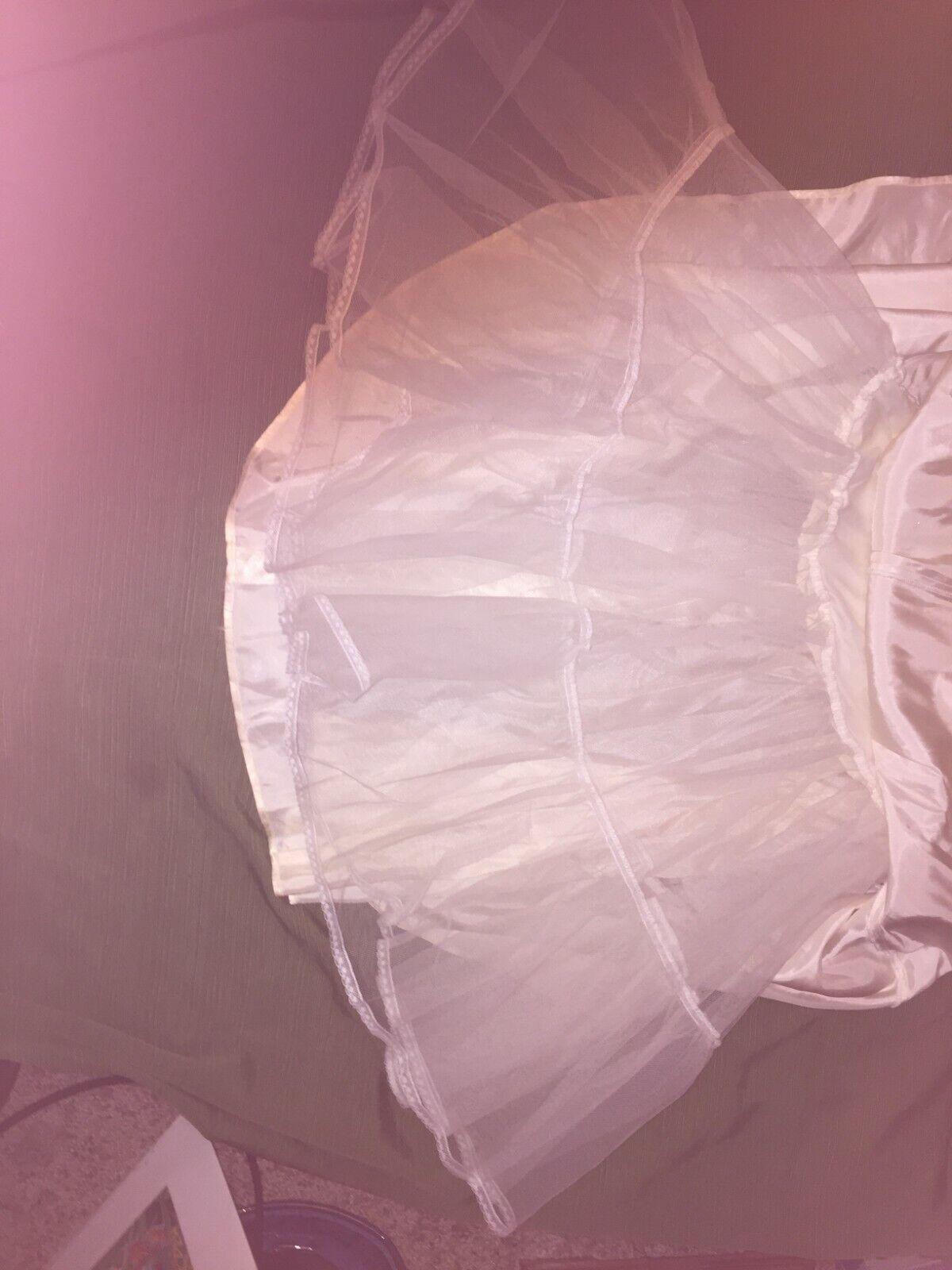 VINTAGE Jessica McClintock Crinoline Skirt 80s - image 6