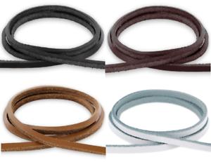 Lederband 3x3mm Farbe Länge wählbar Vierkant-Lederriemen Leder-Bänder