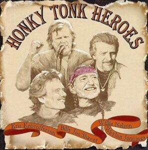 Honky Tonk Heroes by Willie Nelson/Billy Joe Shaver/Kris Kristofferson/Waylon Je