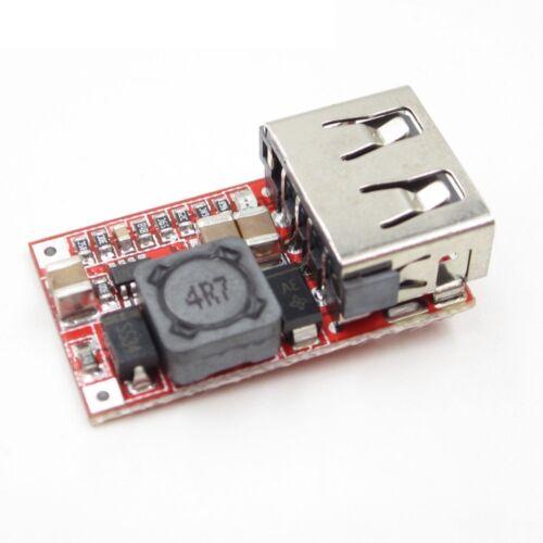 6-24V 24V 12V to 5V USB Step Down Module DC-DC Converter