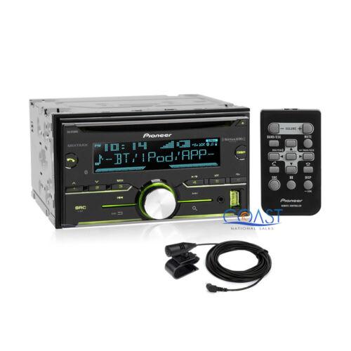 Pioneer USB Sirius Xm Stereo Dash Kit Amp Harness for 04 Ford Lincoln Mercury