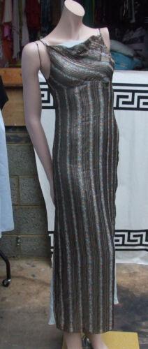 made Couture 8 Layer 100 Evening Haute Dress Metallic Fabulous Hand 2 Silk 6 Uk aqXwx4
