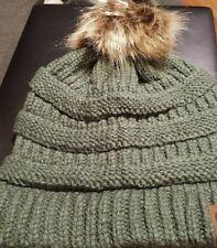 1a11413bc9e item 3 Women s Beanie Ribbed Winter Warm Soft Knit Ski Hat with Faux Fur  Pom Pom -Women s Beanie Ribbed Winter Warm Soft Knit Ski Hat with Faux Fur  Pom Pom