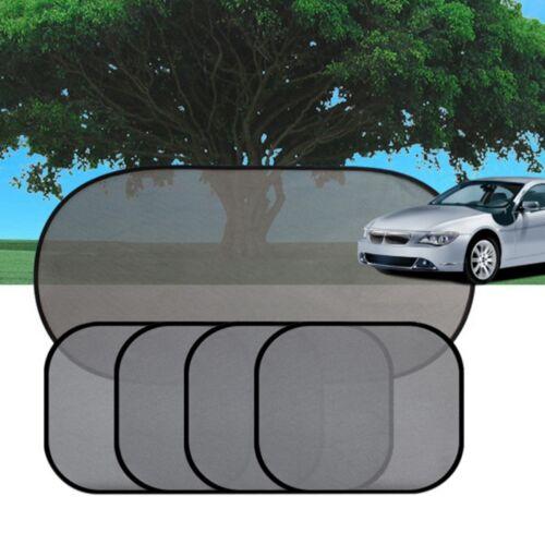 5 Stück Autofenster Mesh Sonnenblende Sonnenschutz mit UV Schutz für Auto PKW