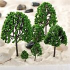 11pcs O Scale 1:50 Assorted Trees Model Train Garden Park Scenery Layout Diorama