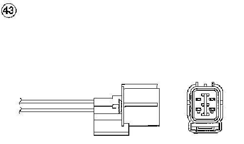 OTD3J-5C1 NGK NTK TITANIA LAMBDA SENSOR NEW in BOX! 0475