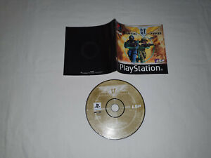 cd disque et notice ps1 playstation 1 sony SPECIAL CT FORCES