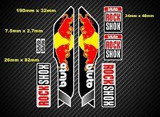 Rock Shox Bluto 2014 Style Suspension Fork Decal/Stickers rxb06