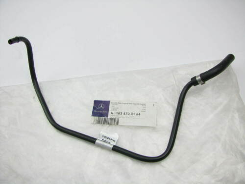 New Genuine OEM Mercedes-Benz A1634703164 Fuel Tank Breather Line 98-05 M-Class