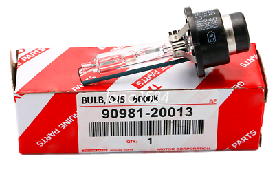 2PCS Xenon D4S Bulbs HID Headlight 6000K for Lexus Toyota 90981-20013