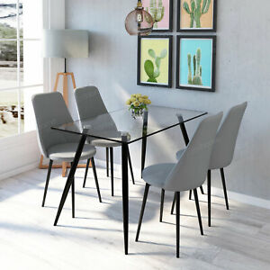 Dining Table And 4 360 Swivel Chairs