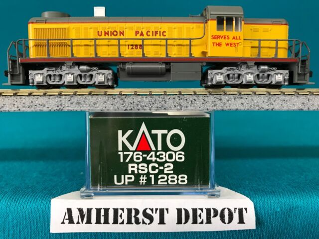 Kato Engine RSC-2 Union Pacific  N Scale UP  Made in Japan 176-4306