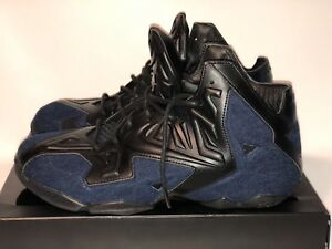 quality design aa3ae fe61e Image is loading DS-Nike-Lebron-XI-11-EXT-Denim-QS-