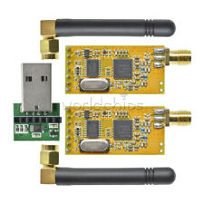 Apc220 Wireless Rf Serial Data Modules With Antennas Usb Converter New