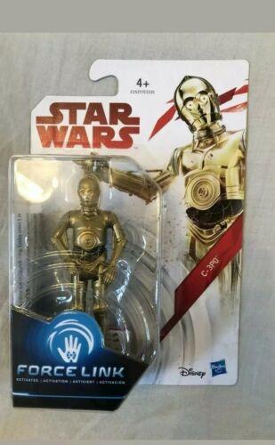 "Star Wars The Last Jedi C-3PO Force Link 3.75"" Action Figure"