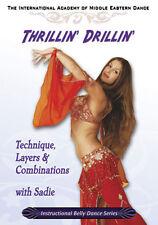 Sadie Belly Dance DVD - Trillin' Drillin' - Learn Belly Dancing Video