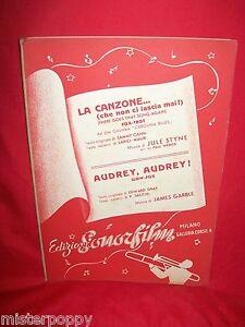 JULE-STYNE-La-Canzone-dal-Film-Carolina-Blues-GARBLE-Audrey-OST-Spartiti-1946