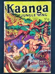 Kaanga-Jungle-King-19-Superior-Pub-1954-Canadian-Edition-Free-Shipping