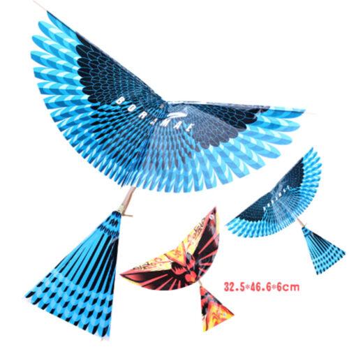Rubber Band Power Handmade Birds Models Science Kite Toys Kids Assembly Gift UK