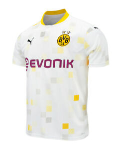 Puma 2020-2021 Borussia Dortmund Third Cup Football Jersey ...