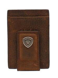 Ariat-Mens-Brown-Rowdy-Card-Case-Money-Clip-A35123282