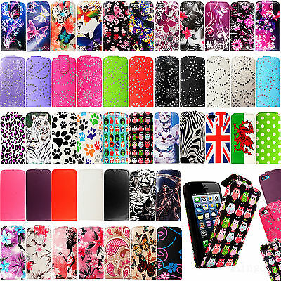 New Top Flip Folio PU Leather Case Cover For Apple iPhone SE 2016 UK Free Post
