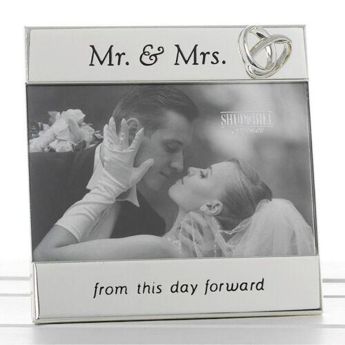 Monsieur /& Madame de cette journée avant cadre photo de mariage cadeau de mariage 74037