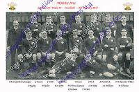 WALES 1911 (v Scotland) INTERNATIONAL RUGBY TEAM PHOTOGRAPH or POSTCARD
