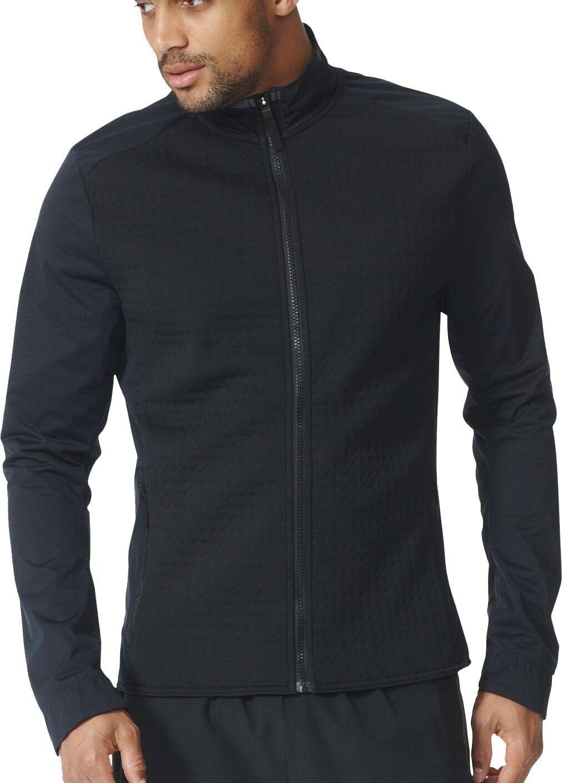 Adidas Ultra Energy Energy Energy Full Zip Reflective Mens Running Jacket - schwarz a4963a