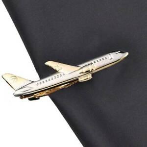 Men-Tie-Clip-Wedding-Shirt-Tie-Pin-lane-Shape-Necktie-Clips-Accessories