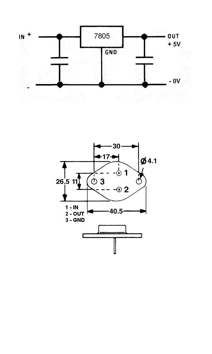 Tesla Ma7805 Voltage Regulator Qty 8pcs Ebay 7805 Circuit Diagram