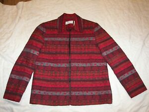 Alfred-Dunner-Blazer-Jacket-Size-8-Open-Front-Style