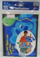 Blue's Clues 8 Pack Party Invitations