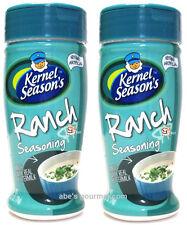 Kernel Season's Ranch Popcorn Seasoning (Pack of 2) 2.7 oz Size