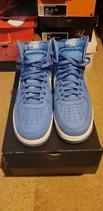 1 Force Hi Uk clair 10 Bnib Air Bleu Nike CE5qp