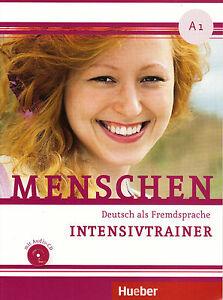 hueber menschen a1 deutsch als fremdsprache intensivtrainer mit audio cd new 9783190419012 ebay. Black Bedroom Furniture Sets. Home Design Ideas