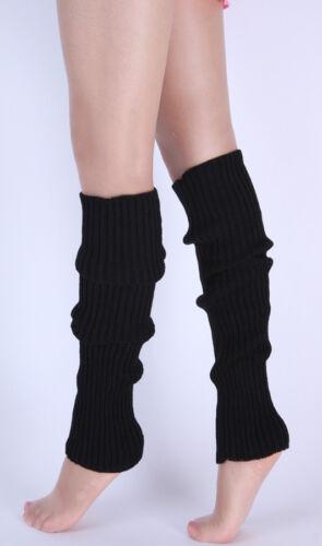 Damen Beinstulpen Strickstulpen Cuff Stulpen Stulpe Stiefel Socken 44*12cm