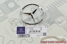 Mercedes W208 W210 Rear Trunk Lid Star Emblem Germany Genuine OE 2087580058
